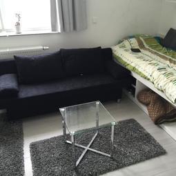 Wohnen mit Blick über Darmstadt - 1 Zimmer Wohnung, möbliert, stadtnah - h_da um die Ecke